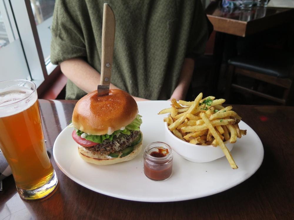 BrassKens Veggie Burger