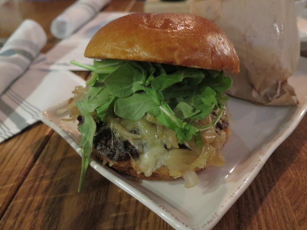 Mill St Elk Burger