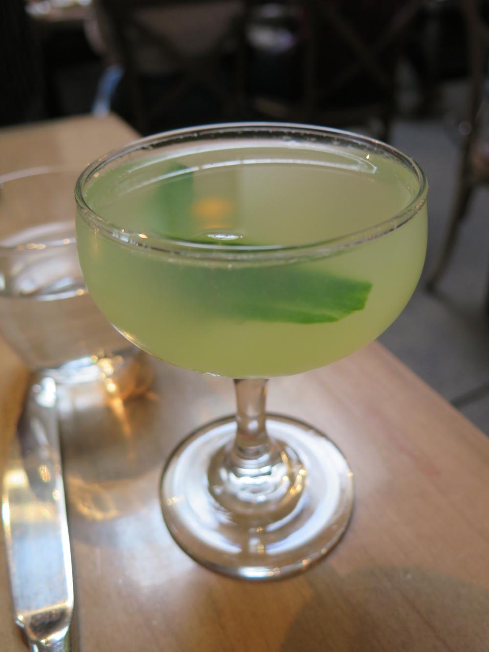 Model Milk Green