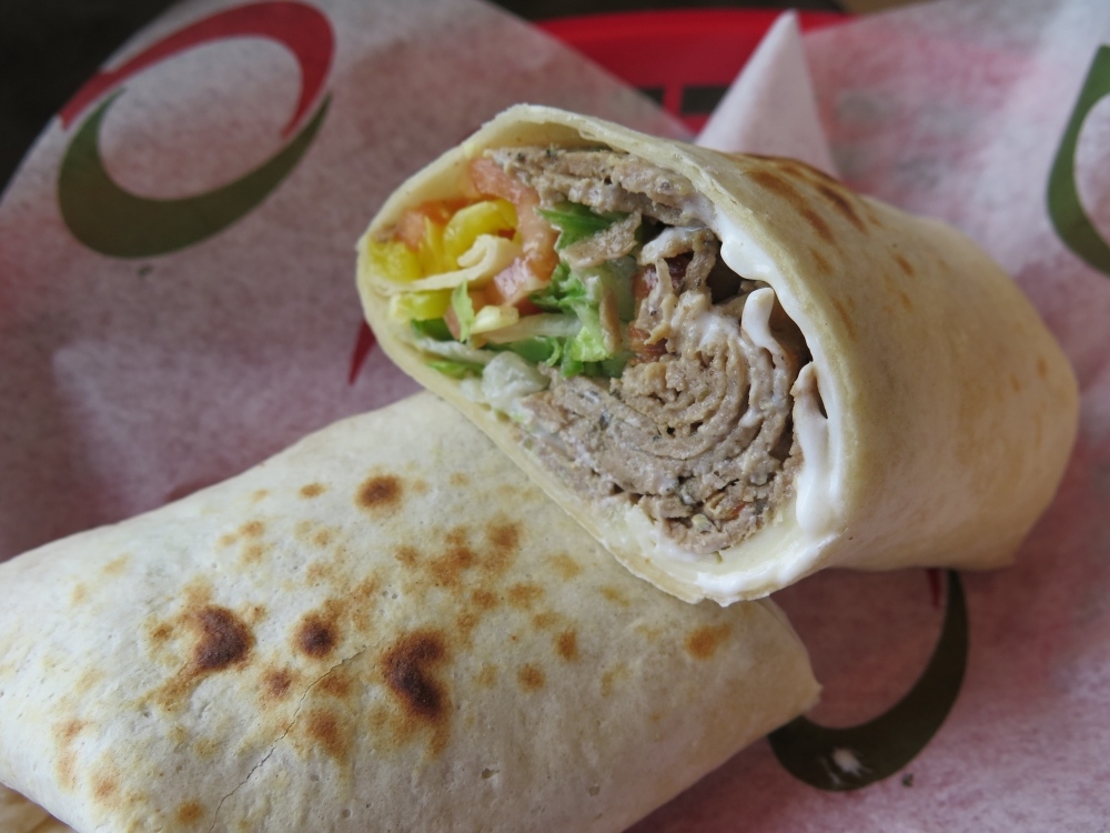 Hungry in Calgary | Quiznos Gyro Wrap