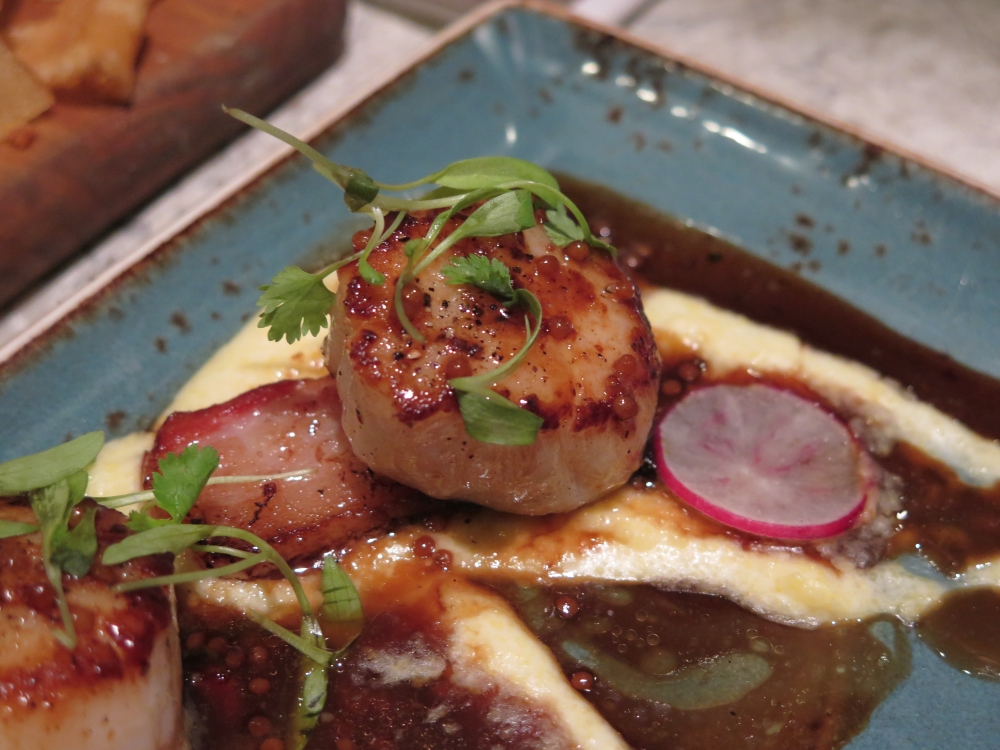 Hungry in Calgary | One18 Scallop