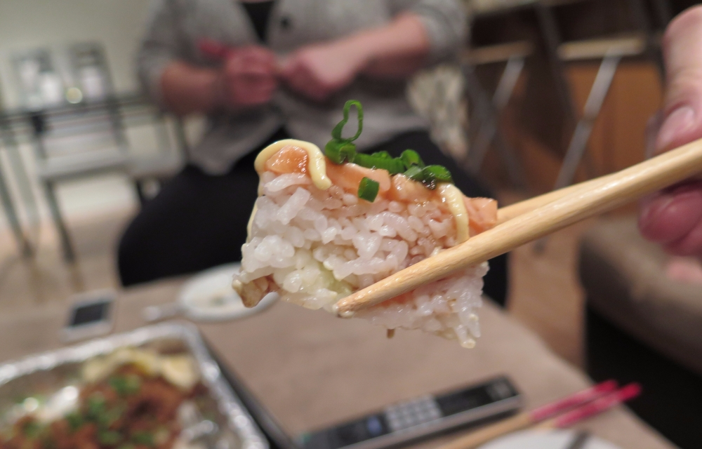 Hungry in Calgary | Poke Night Pressed Sushi