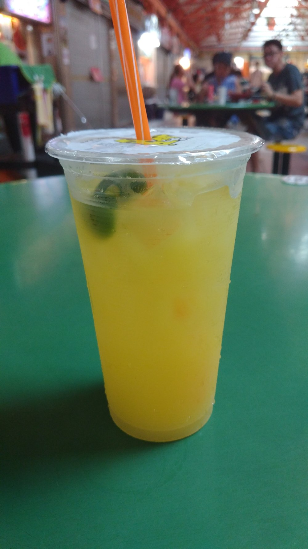 Hungry in Calgary | Singapore Lime Juice