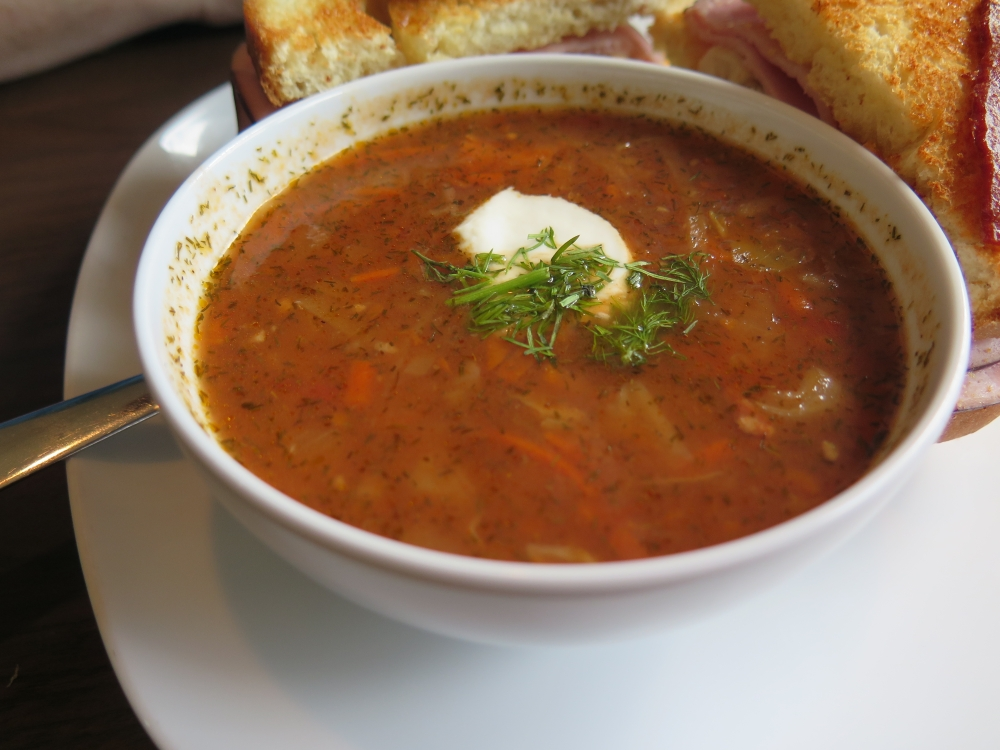 Hungry in Calgary | Country Cousins Borscht