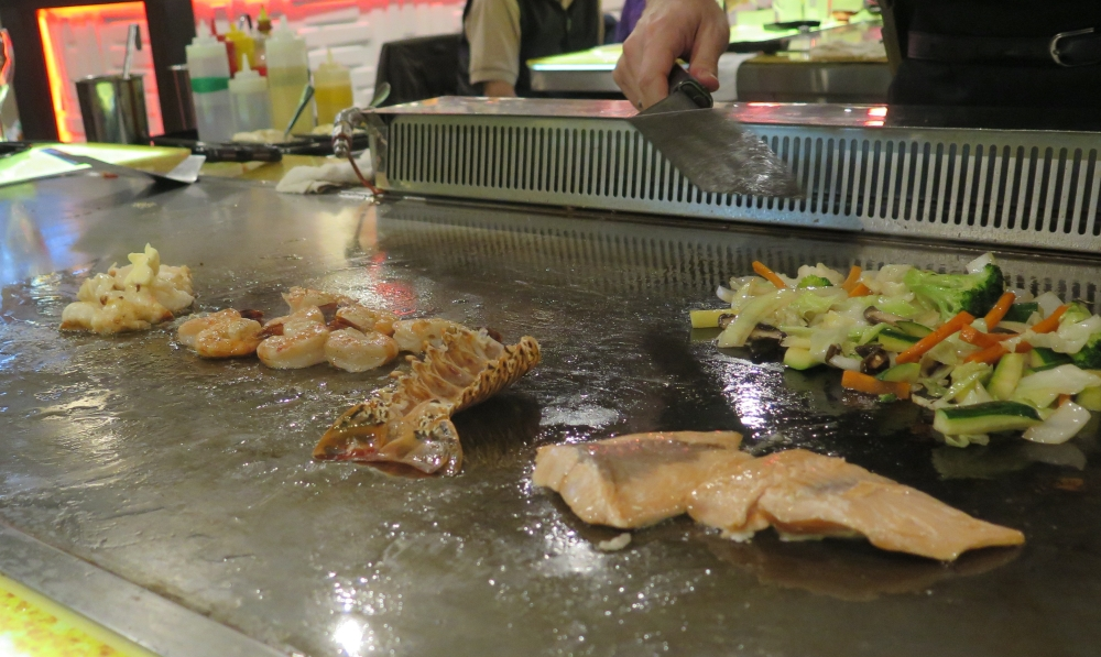 Hungry in Calgary | OMO Seafood Teppan