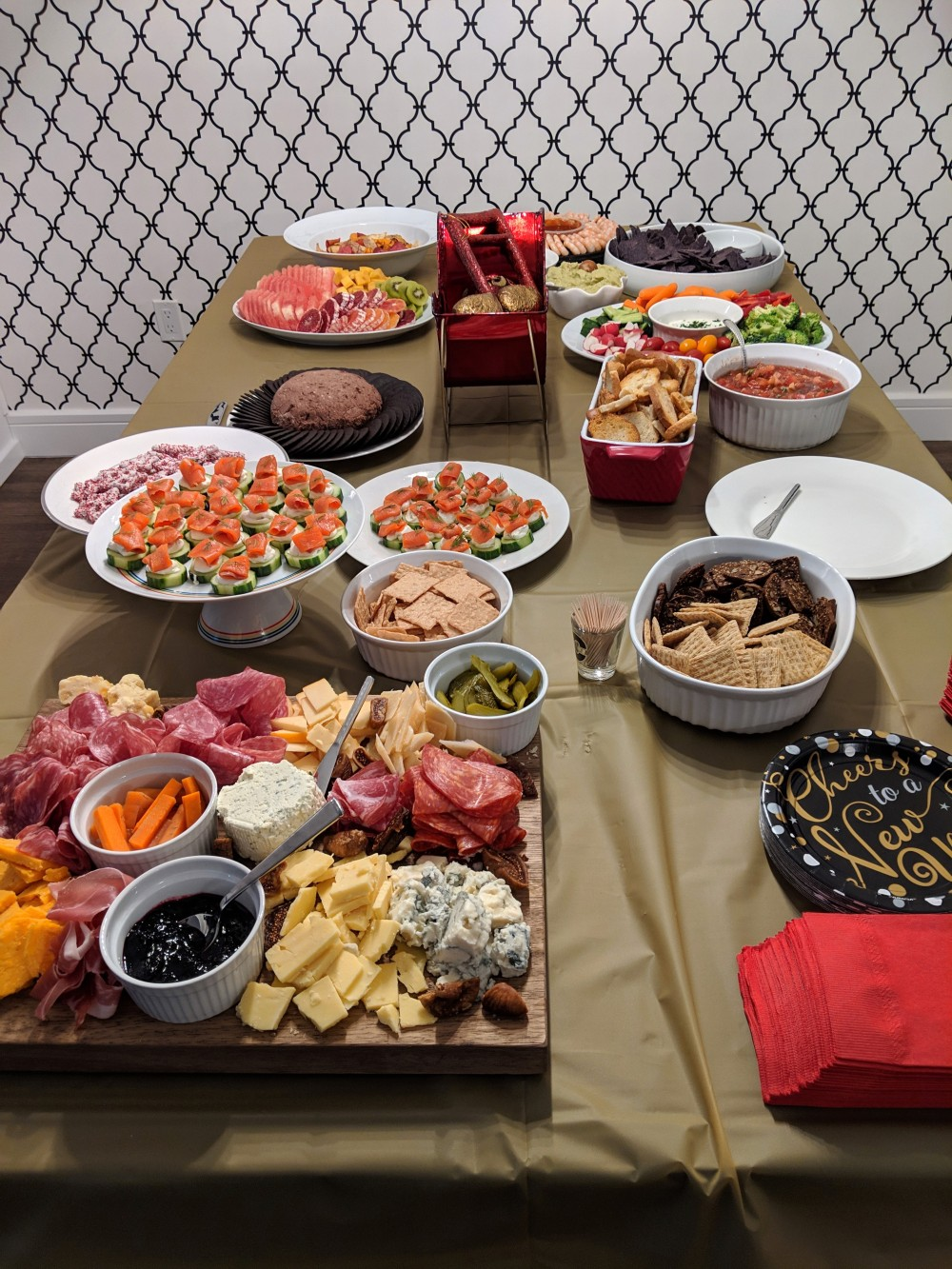 Hungry in Calgary | NYE 19 Spread