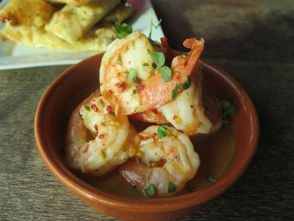 Hungry in Calgary | Scarpetta Prawns