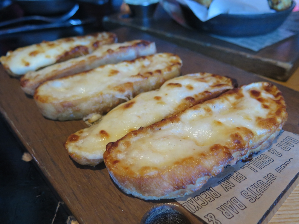 Hungry in Calgary | Shark Club Cheese Toast