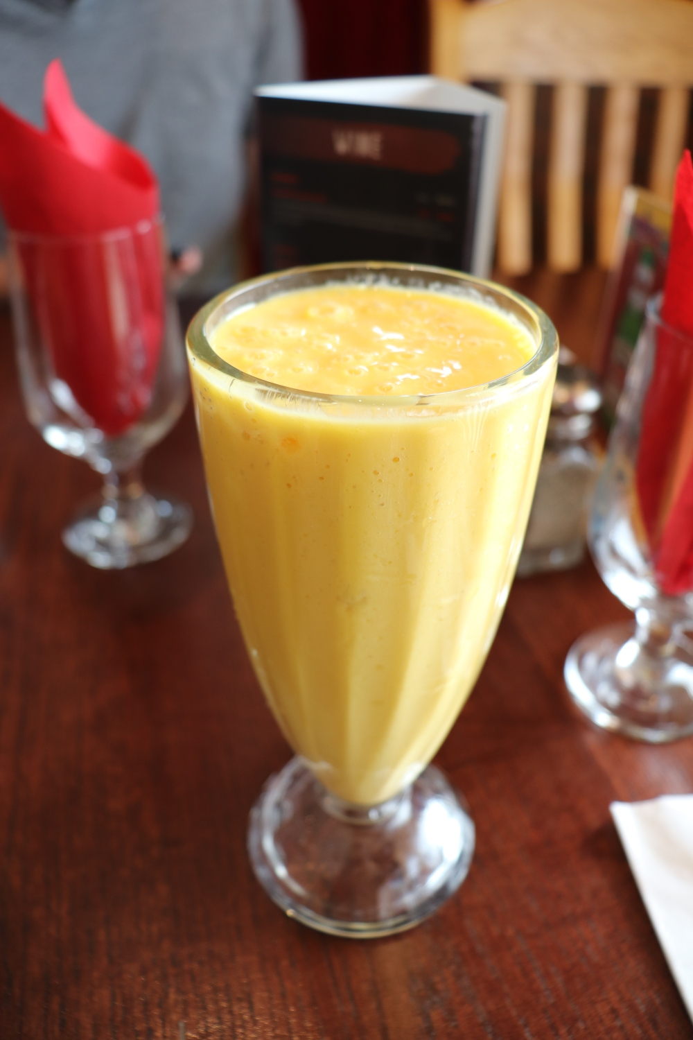 Hungry in Calgary | Tusks Mango Lassi